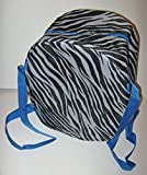"""Zebra Sturdy Slow Cooker Carrier Tote Fits up to 6 Quarts 15"""" X 11"""" X 7-1/2"""""""