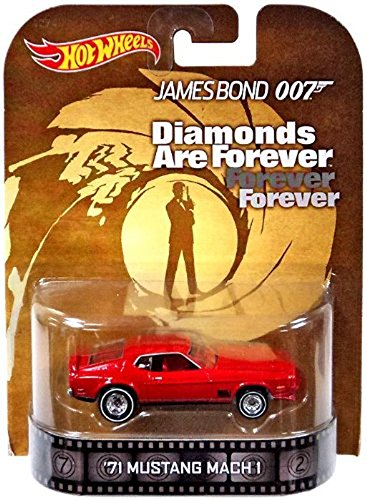 Hot Wheels Retro Entertainment James Bond 007 Diamonds are Forever '71 Mustang Mach 1