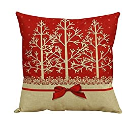 Laimeng, Vintage Christmas Sofa Bed Home Decor Pillow Case Cushion Cover
