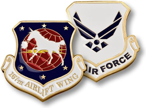 167th Airlift Wing Challenge Coin