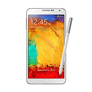 Samsung Galaxy Note 3 lll N900 Factory Unlocked International Version WHITE Color 32GB
