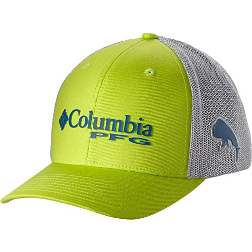 Usa columbia mens pfg mesh ball cap collegiate navy for Columbia fish flag hat