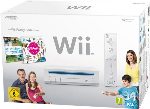 Nintendo Wii - Console Wii Family Edition, Bianca