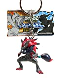 "Banpresto Pokemon Best Wishes Figure Keychain Banpresto 2011 2"" Zoroark"