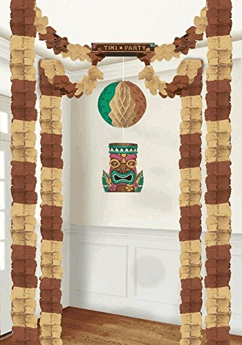 Tiki Hanging Decorating Kit