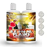 Covert Flasks 32oz Hidden Shampoo and Conditioner Alcohol Flask with Seals Included - Secret Realistic Cruise Liquor Stealth Flasks