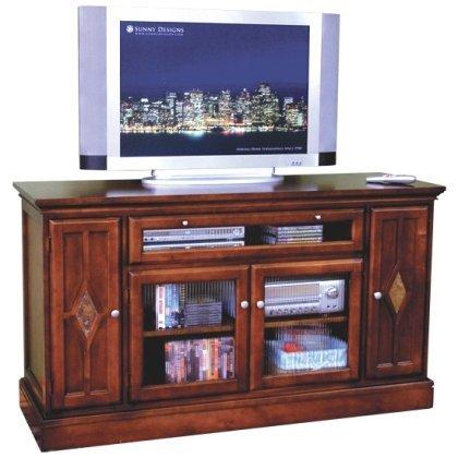 """Sunny Designs Cappuccino 62"""" TV Stand"""