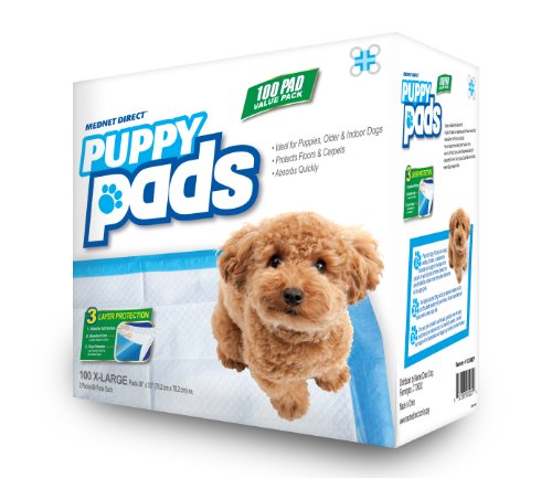 These ultra puppy pads from Mednet Direct utilize a high quality design for maximum leak protection and absorbency. Each pad features sap super absorbent polymer filling Reviews: