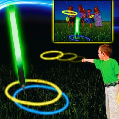 Glow Ring Toss Game - 1