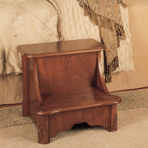 Cool Sale Powell Woodbury Mahogany Bed Step With Storage Best Pdpeps Interior Chair Design Pdpepsorg