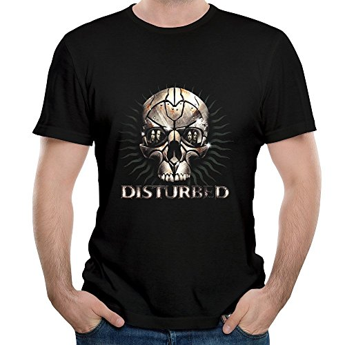 FIVE Miumine Disturbed Immortalized Unique Men's Short Sleeve Tshirt