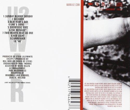 U2 1983 u2 war italian 1983 dischi