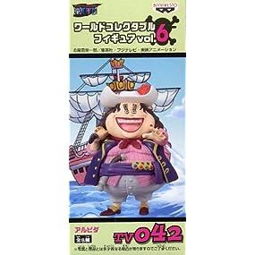 ONE PIECE(ワンピース) 組立式ワールドコレクタブルフィギュア vol.6 TV042 アルビダ
