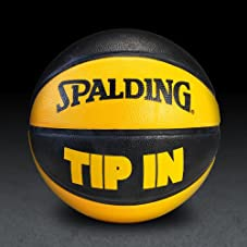 TIP IN Rubber Basketball - Orange/Black
