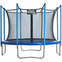 Upper Bounce 10ft. Trampoline & Enclosure Set with Easy Assemble Feature
