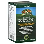 Garden Greens Essential Greens 3000, Purify, Capsules, 120 ea