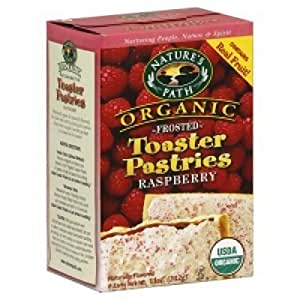 Amazon.com: Nature's Path Organic Toaster Pastries, Frosted Raspberry ...