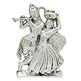 Frabjous Brass Radha Krishna God Idol Wall decor Pooja Accessories