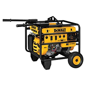 DeWalt DG7000B Heavy Duty 7,000 Watt 389cc 13 HP Gas Powered Portable Generator With 18 Volt Battery Electric Start (Discontinued by Manufacturer)