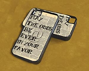 iPhone 4/4s Case Hunger Games Odds in Your Favor (Dual Layer - Black)