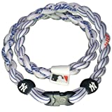 Phiten Tornado Mlb X30 Necklaces - New York Yankees