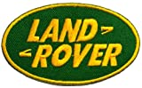 4.3cm x 7.3cm Land Rover 4x4 Off-road Rally Motorsport Racing DIY Embroidered Sew Iron on Patch