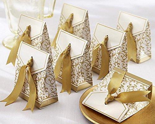 Gold Wedding Favor Boxes