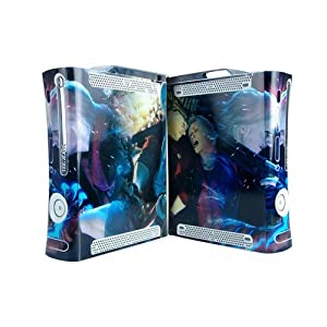 Devil May Cry Xbox 360 Protector Skin Decal Sticker, Item No.BOX0832-05