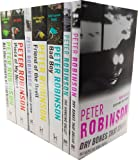 Peter Robinson Inspector Banks 7 Books Collection Set RRP: £52.93 (All the Colours of Darkness, Piece of My Heart, Strange Affair, Friend of the Devil, Bad Boy, The Hanging Valley, Dry Bones That Dream) Peter Robinson