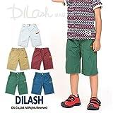 (ディラッシュ) DILASH初夏'16/ダンプワッシャーハーフパンツ 140 カーキ ランキングお取り寄せ