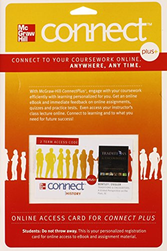 Traditions and Encounters, Connect Plus History Two-term Access Card