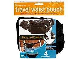 Bulk Buys Travel Waist Pouch -72-Pack