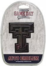 NCAA Texas Tech Red Raiders Car Emblem by Game Day Outfitters