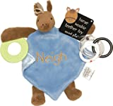 Mud Pie Baby EiEiO Teether Blankie, Horse