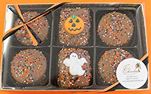 Chocolate Rice Krispie and Oreo Cookie Halloween Gift Box