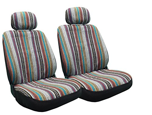 Baja Inca Seat Covers Pair Front Row Saddle Blanket For Toyota Camry (Vintage Seat Covers compare prices)