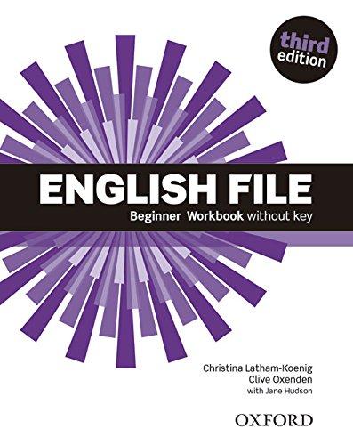 English File Beginner Wb W/O Key 3Ed (English Files)