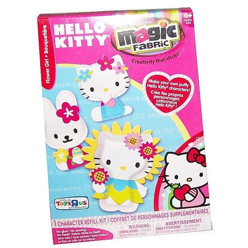Magic Fabric Hello Kitty Flower Girl Refill Kit