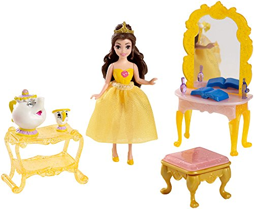 Disney Princess Little Kingdom Belle Doll and Furniture Playset - 1