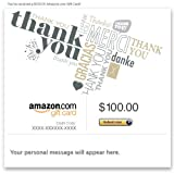 Amazon Gift Card - E-mail - Thank You (Global)