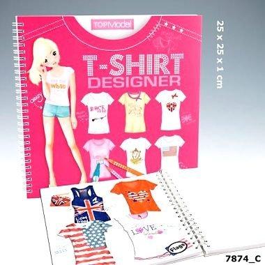 Imagen 2 de Depesche - Top Model - Cuaderno de diseños de camisetas