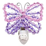 Lambs & Ivy Beaded Nightlight, Butterfly
