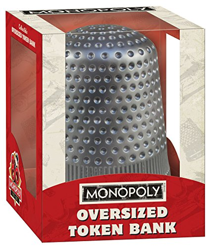 USAopoly Monopoly: Oversized Thimble Token Bank - 1