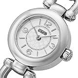 (コーチ) COACH コーチ 時計 レディース COACH 14501853 WAVERLY ウェイバリー 腕時計 ウォッチ シルバー/レッド [並行輸入品]