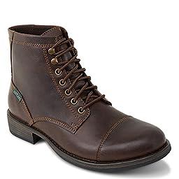 Eastland High Fidelity Cap Toe Casual Boots, DARK BROWN, 9D