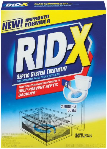 RID-X Septic System Treatment: 2 Dose Powder