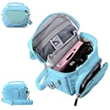 Luxury BLUE Travel Case Carry Pouch Bag for Nintendo 3DS DS Lite DSi XL - Accessories by InventCase®