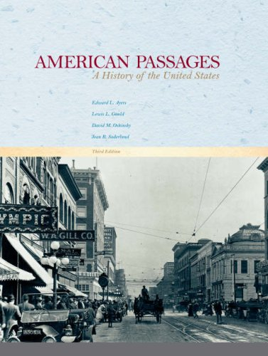 American Passages: A History of the United States (v. 1 & 2)
