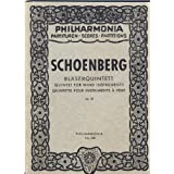 Quintett für Flöte, Oboe, Klarinette, Horn und Fagott ... Op. 26. [Score. With a portrait.] (Philharmonia Partituren...