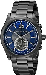 Michael Kors Men's Aiden Gunmetal-Tone Watch MK8418